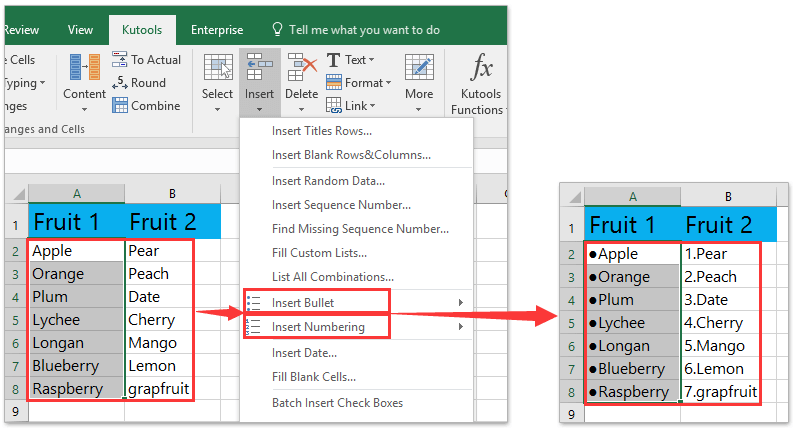 Tips And Tricks To Insert Bullet Points In Microsoft Excel Cells